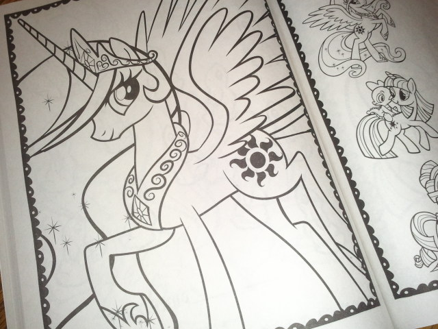Princess Celestia The Sleekest Pony