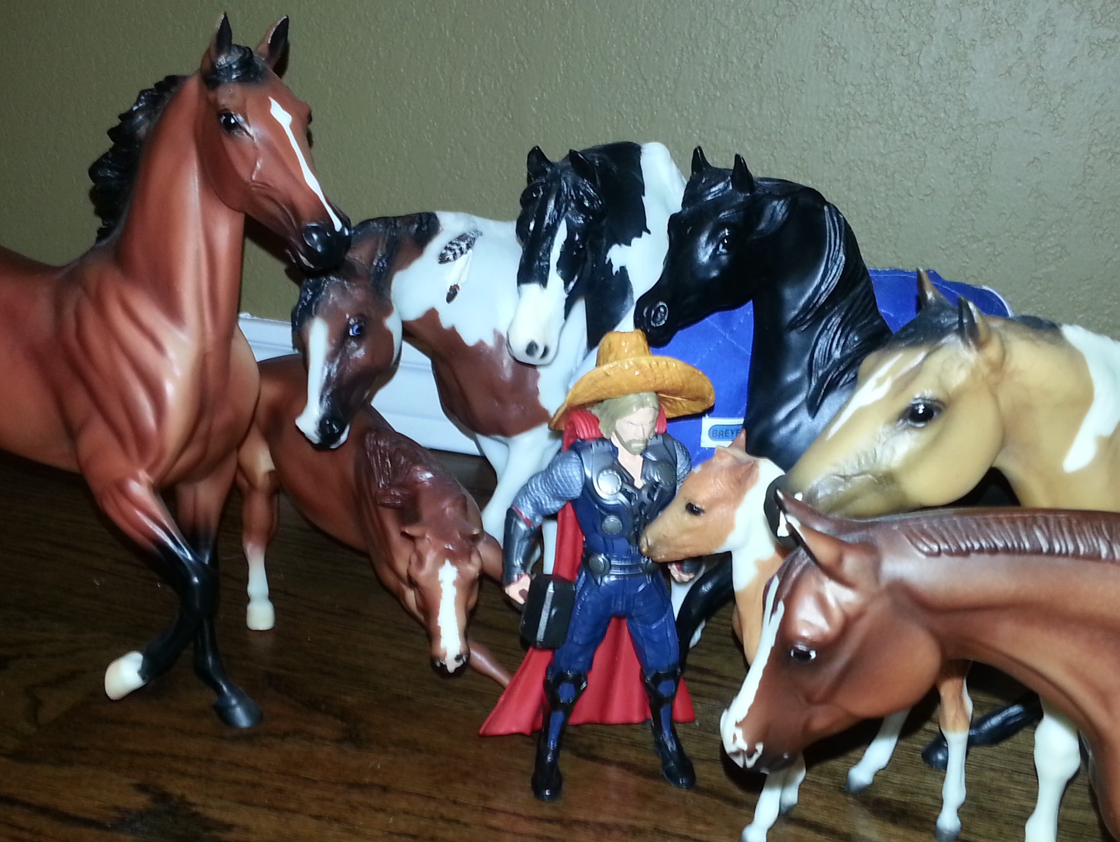 Thor thought it might be nice to have one of these lovely steeds go home with him.